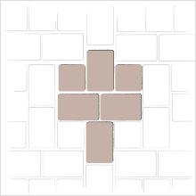 Large Rectangle and Square 1 Pattern